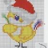 Цыплёнок схема для вышивания для начинающих