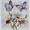 Бабочки-ромашки
