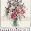 Букет с лилиями схема для вышивания
