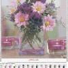 Букет схема для вышивания с удобной подборкой цветов