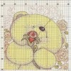медвежонок с розой