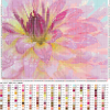 Схема вышивки цветка