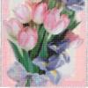 Как вышить тюльпаны к 8 марта