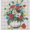 Схема вышивки «Полевые цветы»