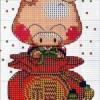Схема вышивки «Китайская свинка»