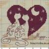 Схема вышивки «Влюблённые»