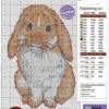 Схема вышивки «Крольчонок»