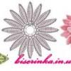 Цветочки для декора вязанные крючком