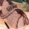 Схема вязания крючком сумка