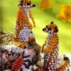 Схема плетения суслика из бисера