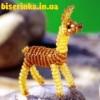 Как сделать ламу из бисера