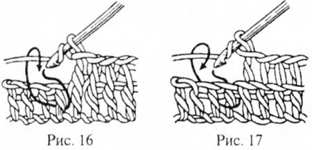 Обвитой столбик в вязании