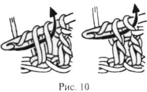 Столбик с накидом
