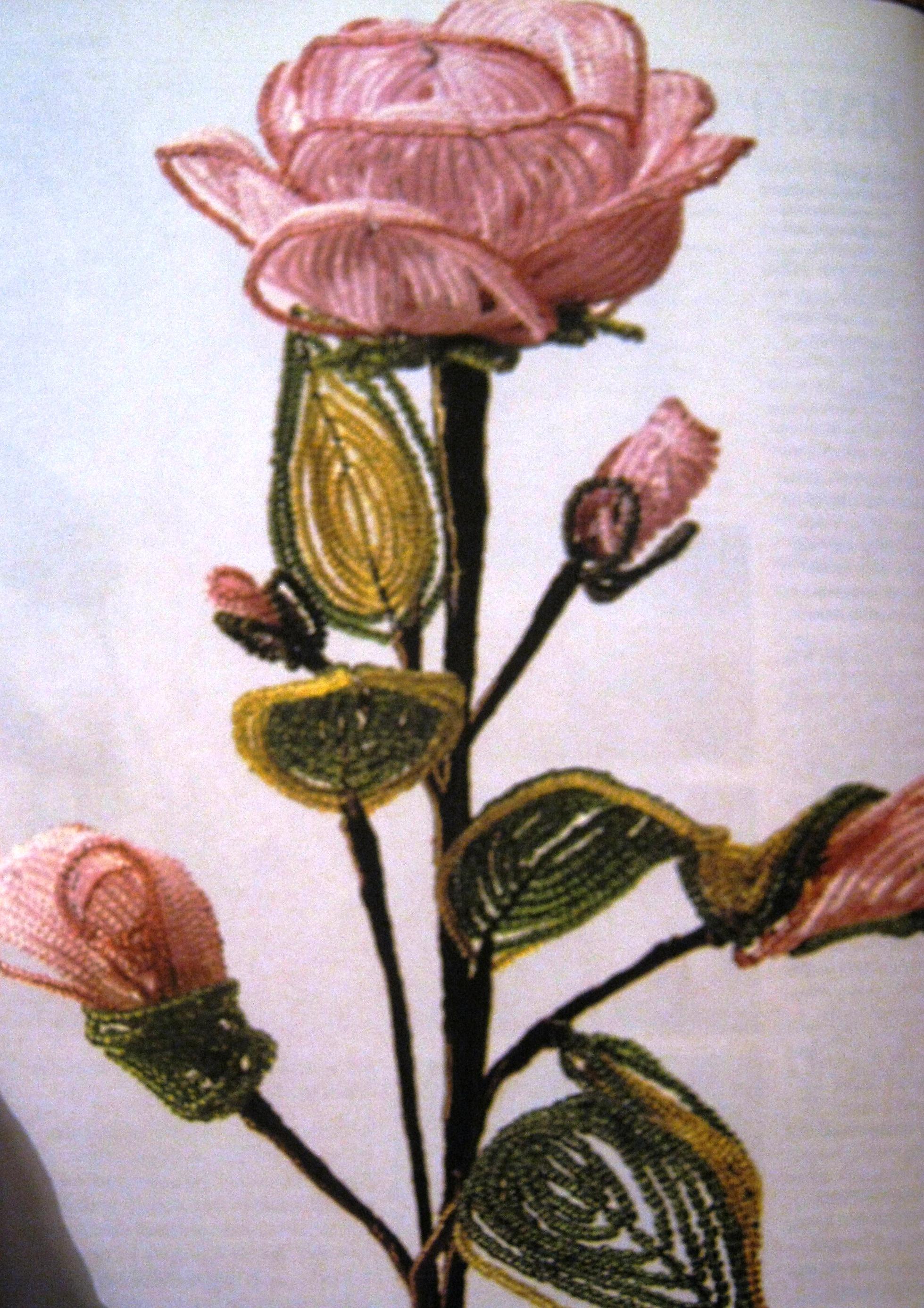 плетение из бисера цветы со схемами