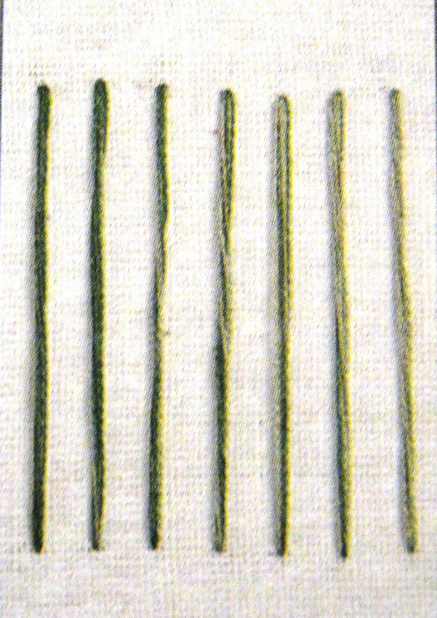 схема плетения стебелька