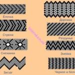 Схемы фенечек из бисера