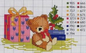 открытка с медвежонком