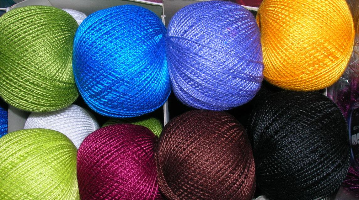 Из чего делают нитки для вязания 12