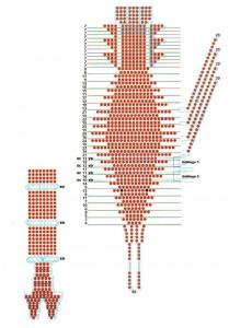 как сделать рака из бисера