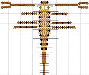 как сделать скорпиона из бисера