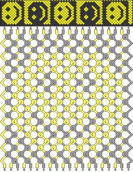 Фенечки из мулине: схемы плетения (50 схем) - 3 ребенка.