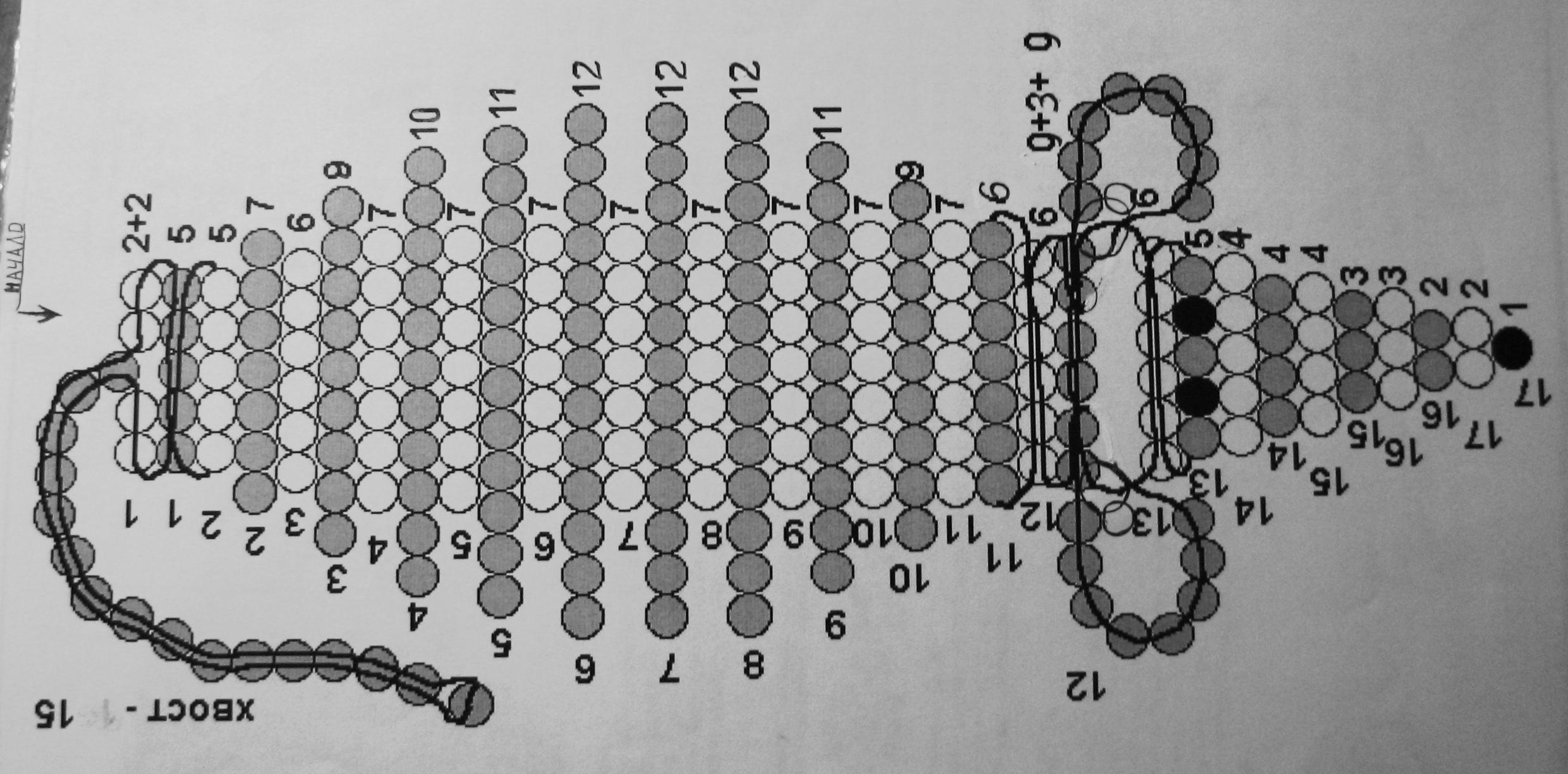 Автор: Admin Дата: 31.10.2013 Описание: Схемы плетения зверушек из бисера.