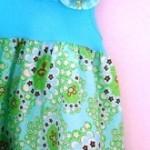Красивое детское платье из простой майки