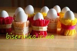 Пасхальные подставки для яий