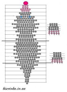 Как сделать объёмную фигурку крота, схема