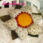 Подушка цветочек своими руками