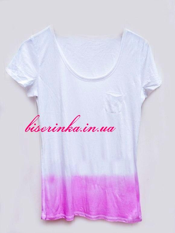 Как сделать белую футболку снова белой