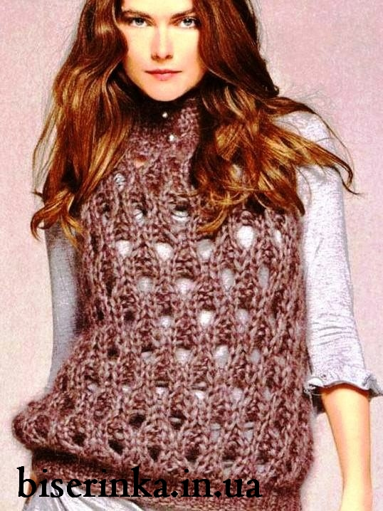 VineYard Vest by knitchicgrace | Knitting Pattern