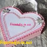 Упаковка в виде сердца