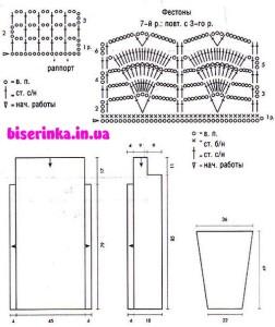 схемы для вязания кардигана