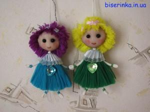 Куклы из шнурков
