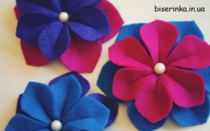 Разноцветные цветы